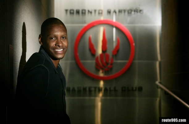 Msai Ujiri GM and President of Toronto Raptors